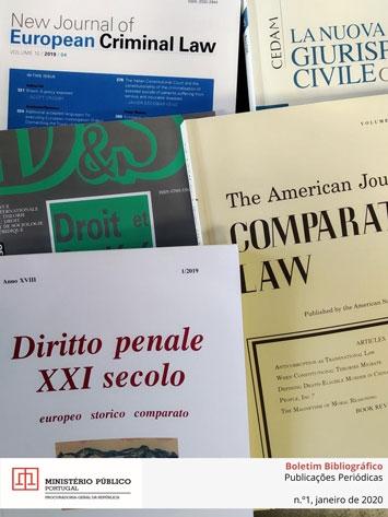 Boletim Bibliográfico de Publicações Periódicas da Biblioteca da PGR n.º 1 de janeiro