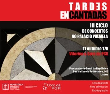 Tardes encantadas - III Ciclo de Concertos no Palácio Palmela (PGR): Vitorino & Coro da PGR