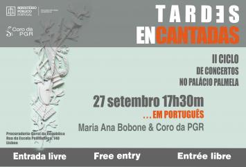 Tardes Encantadas - II Ciclo de Concertos no Palácio Palmela