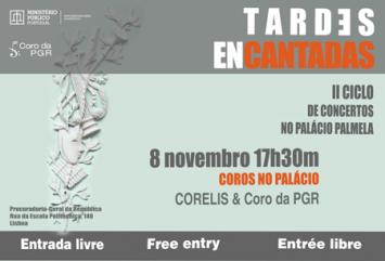 Tardes Encantadas – II Ciclo de Concertos no Palácio Palmela (PGR)