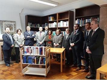 Cerimónia de oferta de livros à Biblioteca da Procuradoria-Geral da República
