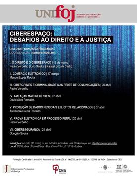 Ciclo Ciberespaço: Desafios ao Direito e à Justiça