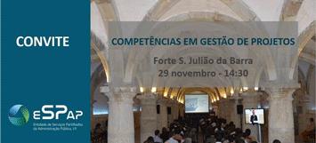 """Sessão sobre """"Competências em Gestão de Projetos"""""""
