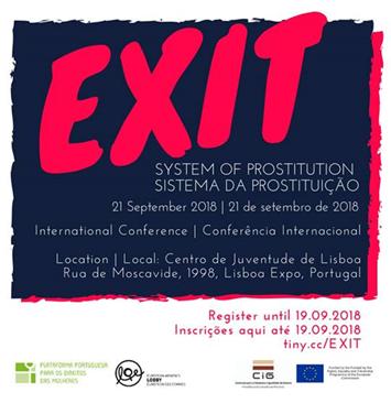 Conferência internacional EXIT | Sistema da prostituição