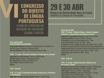 VI Congresso do Direito de Língua Portuguesa