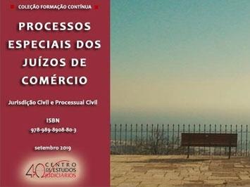 Processos Especiais dos Juízos de Comércio (e-book)