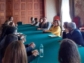 Reunião de trabalho na comarca de Viana do Castelo