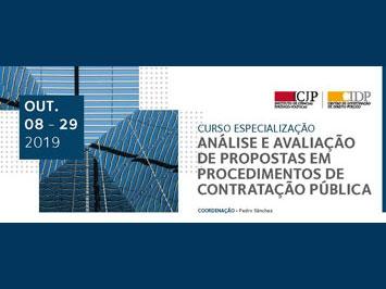 Análise e avaliação de propostas em procedimentos de contratação pública