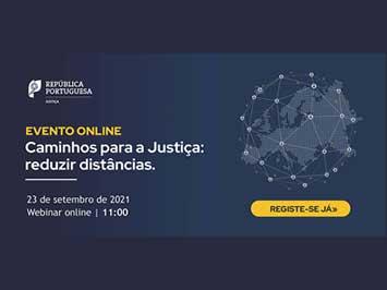 Caminhos para a Justiça: reduzir distâncias - Webinar