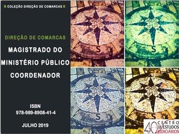 "E-book ""Magistrado do Ministério Público Coordenador"" - CEJ"