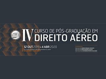 IV Pós Graduação em Direito Aéreo