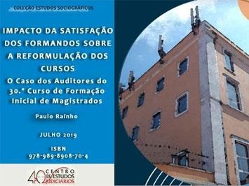 """Coleção Estudos Sociográficos """"Impacto da Satisfação dos Formandos sobre a Reformulação dos Cursos"""