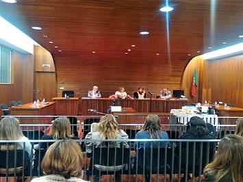 Reunião de trabalho na comarca de Viseu