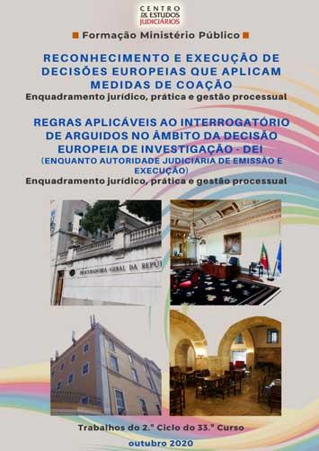 Reconhecimento e Execução de Decisões Europeias que Aplicam Medidas de Coação (e-book)