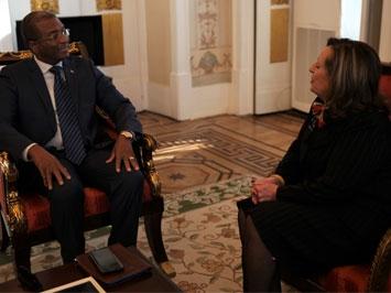 Reunião com o Procurador-Geral da República de Cabo Verde