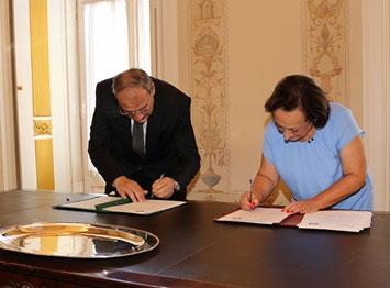 Memorando de Entendimento sobre cooperação  entre a Procuradoria-Geral da República e a Procuradoria-Geral da República Árabe do Egipto