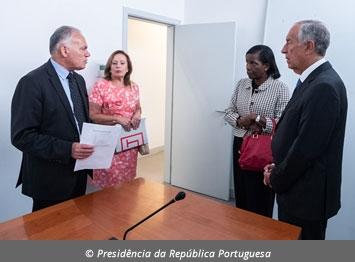 Visita do Presidente da República ao DCIAP