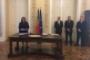 Cerimónia de tomada de posse dos magistrados do Ministério Público membros da Comissão de Fiscalização de Dados do Sistema de Informações da República