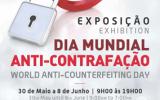 Exposição Dia Mundial Anti-Contrafação