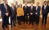 Reunião com o Procurador-Geral da Confederação Helvética