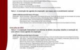 """Seminário """"Cooperação Internacional, Governação e Estado de direito"""""""