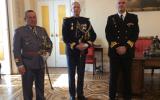 Da esquerda para a direita: Jaime da Silva Sequeira - Coronel de Artilharia (Exército); Manuel Augusto da Silva Caldeira - Tenente-coronel (GNR); Rui Pedro Gomes Fernando da Silva Lampreia - Capitão-de-fragata (Marinha)