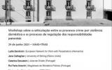 Workshop técnico sobre a articulação entre os processos crime por violência doméstica e os processos de regulação das responsabilidades parentais